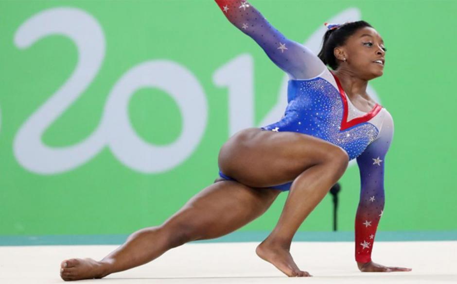 Simone integra el equipo de gimnasia de los Estados Unidos. (Foto: sport.es)