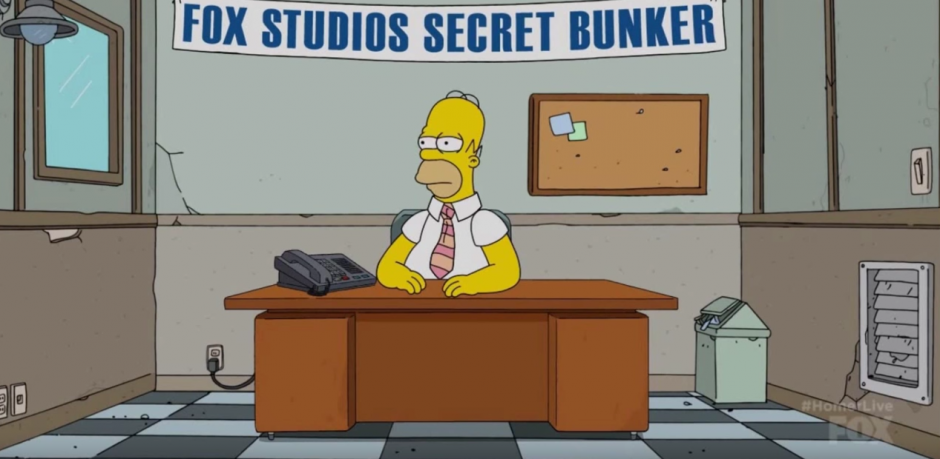 Los fans de los Simpson esperan las respuesta de Homero. (Captura de pantalla: Phil Crow/Youtube)