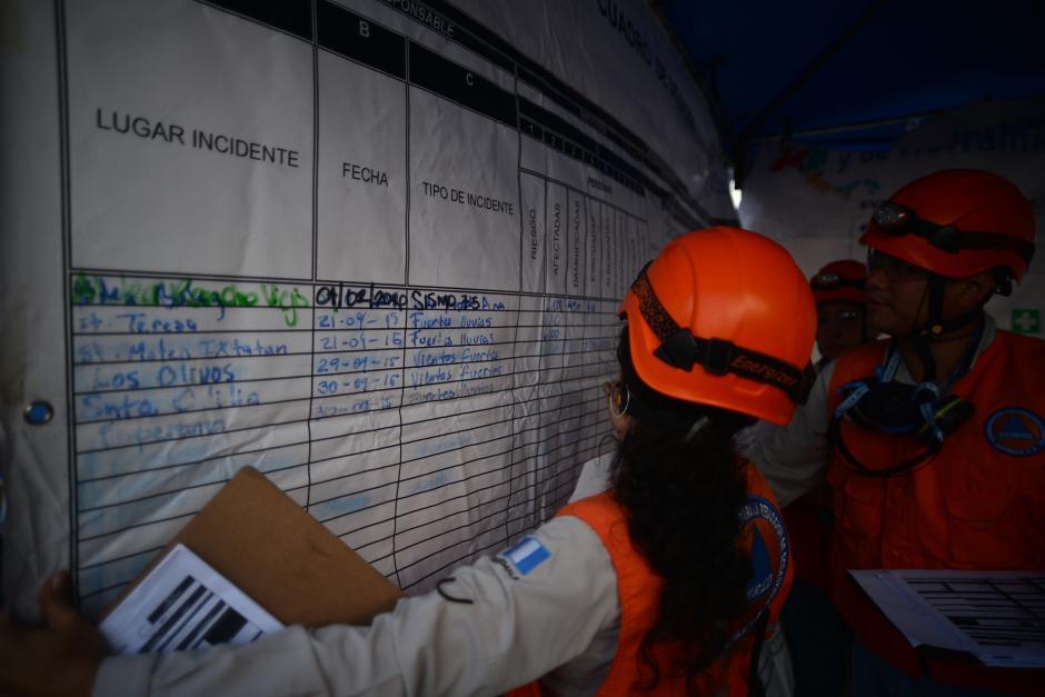 Cuerpos de socorro y distintas instituciones participan en un simulacro de terremoto en la Coordinadora para la Reducción de Desastres (CONRED). (Foto: Wilder López/ Soy502)