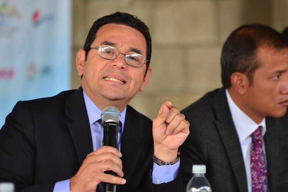 Presidente lamentó el accidente de bus ocurrido en Nahualá. (Foto: Jesús Alfonso/Soy502)