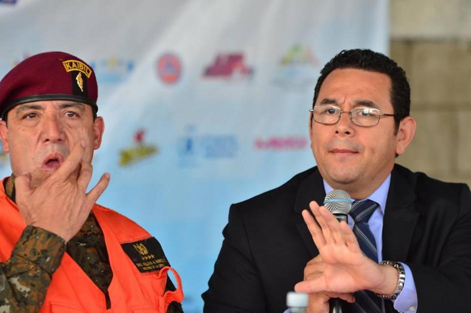 Presidente reafirmó su apoyo a la pena de muerte. (Foto: Jesús Alfonso/Soy502)
