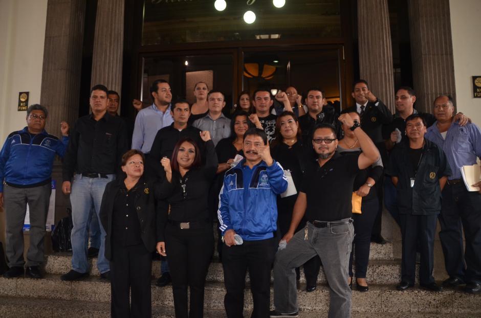 Los dirigentes afirman que tomarán otras acciones contra lo hecho por la Junta Directiva. (Foto: cortesía José Castro)
