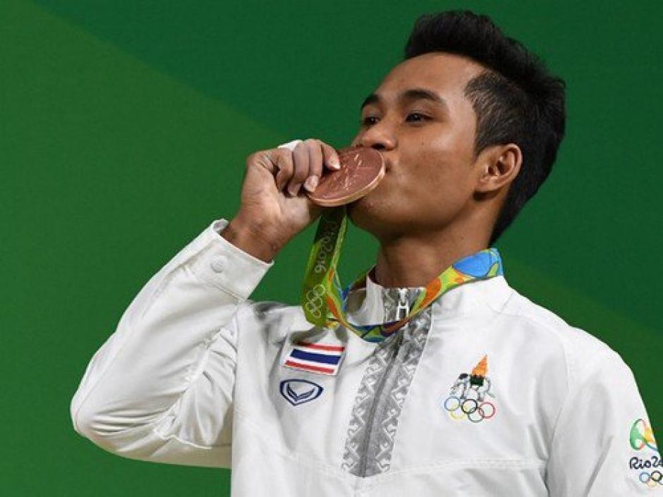 Sinphet Kruaithong, tendrá el peor recuerdo de su medalla olímpica. (Foto: EFE)