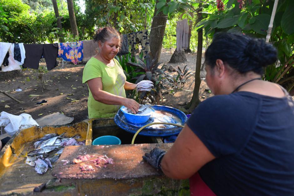 En el lugar se dedican a la pescar artesanal, a la agroindustria y a producir sal. (Foto: Jesús Alfonso/ Soy502)