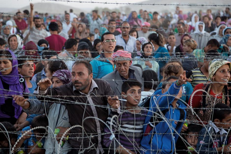 Según datos de la Agencia de las Naciones Unidos para los Refugiados (ACNUR), más de 4 millones de sirios se encuentran refugiados en diversos países al finalizar el 2015, quienes han sido desplazados de sus hogares debido a la guerra civil que se vive en Siria. (Foto: nationalgeographic.com)