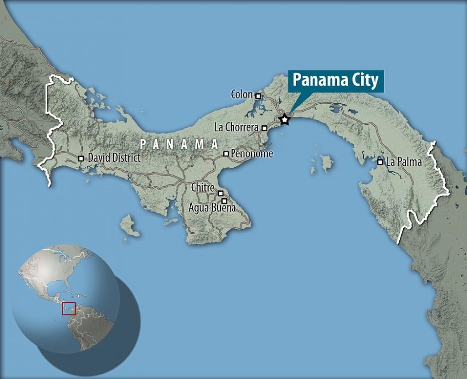 la nube se detectó por Panamá. (Foto: Santiago Borja/Solent News)