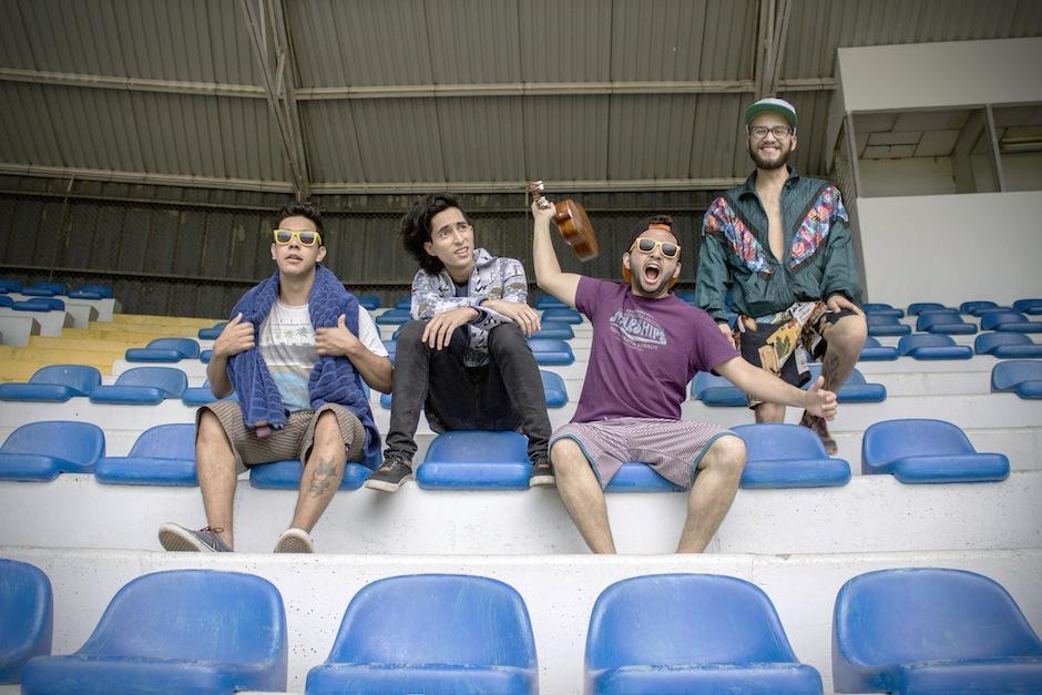 """La banda SKD2 lanza su nuevo sencillo """"No sé nadar"""". (Foto: SKD2)"""