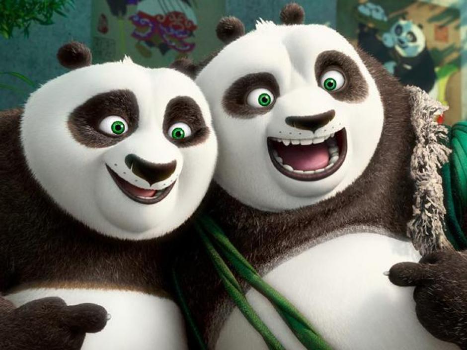 El oso Po llega al poblado de pandas al que pertenece su padre. (Foto: Google)