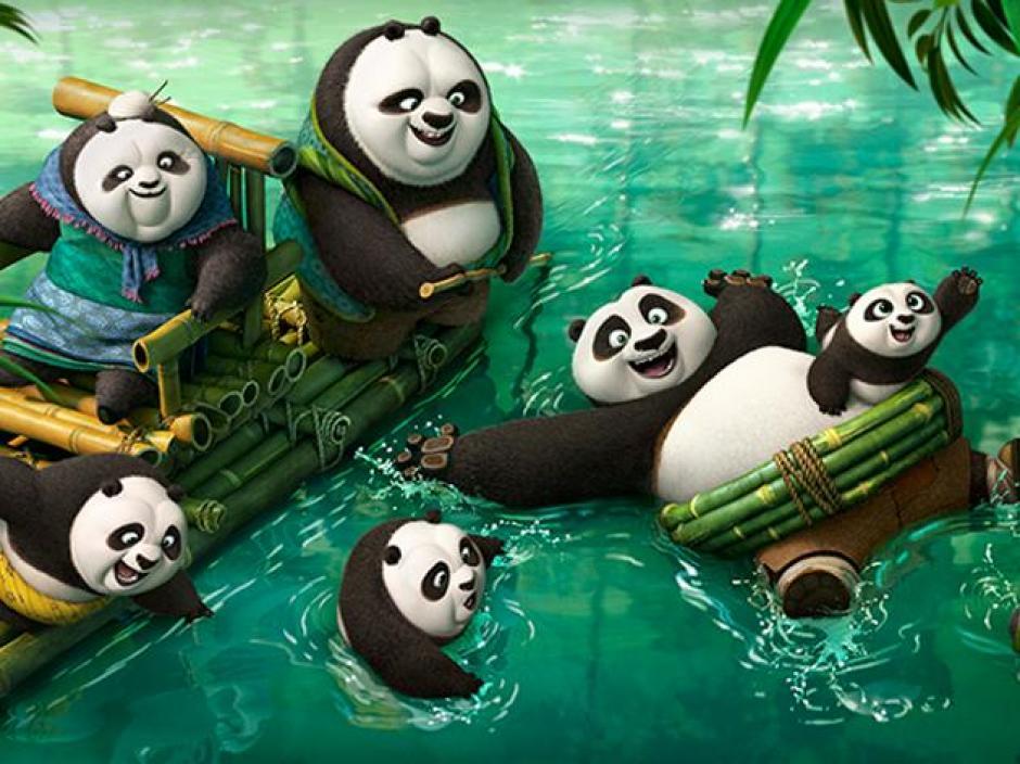 El panda Po regresa con más aventuras. (Foto. Google)