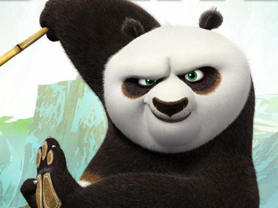 El carismático oso Po. (Foto: Google)