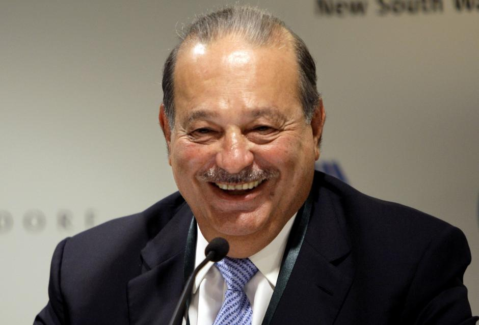 El mexicano Carlos Slim cae hasta la cuarta posición. (Foto: Forbes)