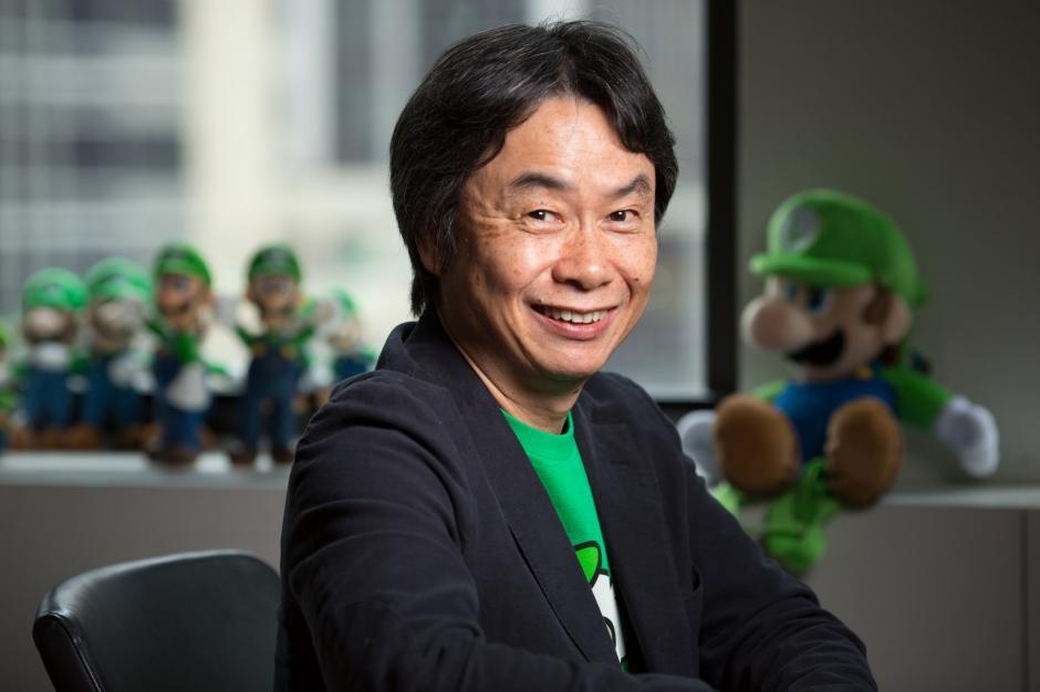 """Shigeru Miyamoto es conocido como """"El padre de los videojuegos"""". Foto: aratablog.com)"""