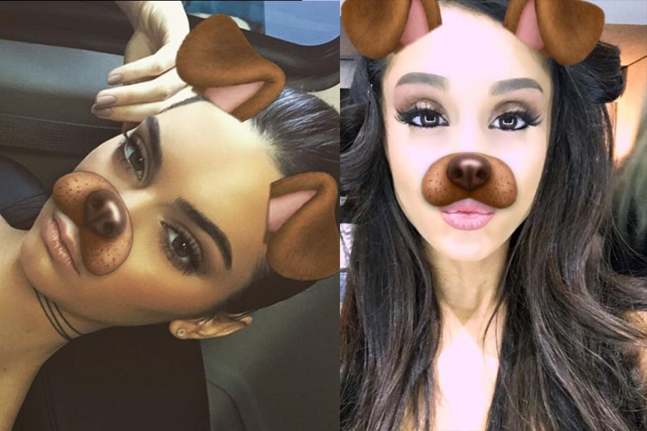 El filtro de perro es el número uno en la red social. (Foto: Snapchat)