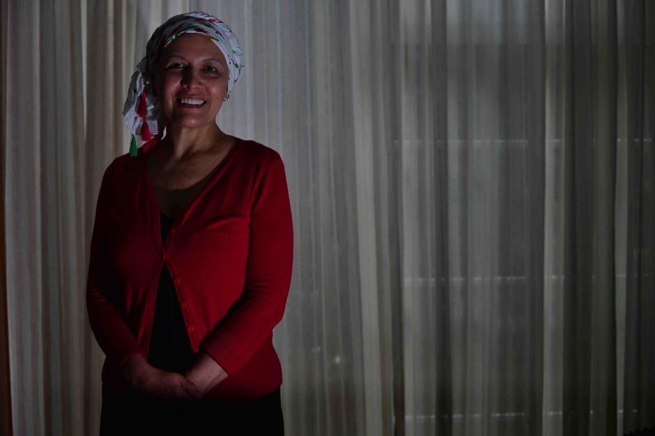 Alma Rivera fue diagnosticada con cáncer de seno a sus 54 años. (Foto: Jesús Alfonso/Soy502)