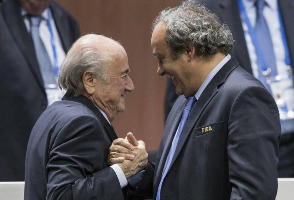 Blatter y Platini caso fifa foto