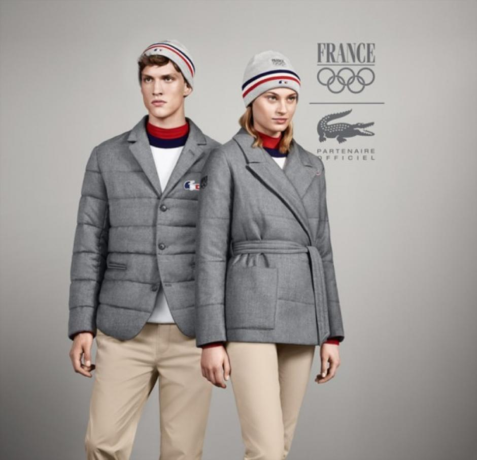 Francia usará el uniforme diseñado por la marca Lacoste. Foto Lacoste