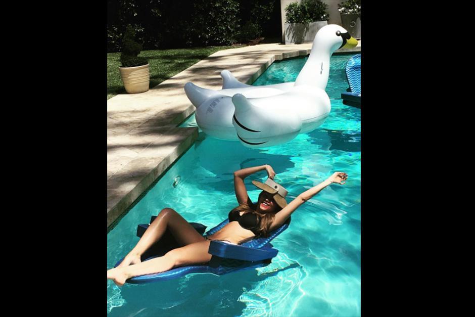 La actriz aprovechó el buen clima en Los Ángeles. (Foto: Instagram)