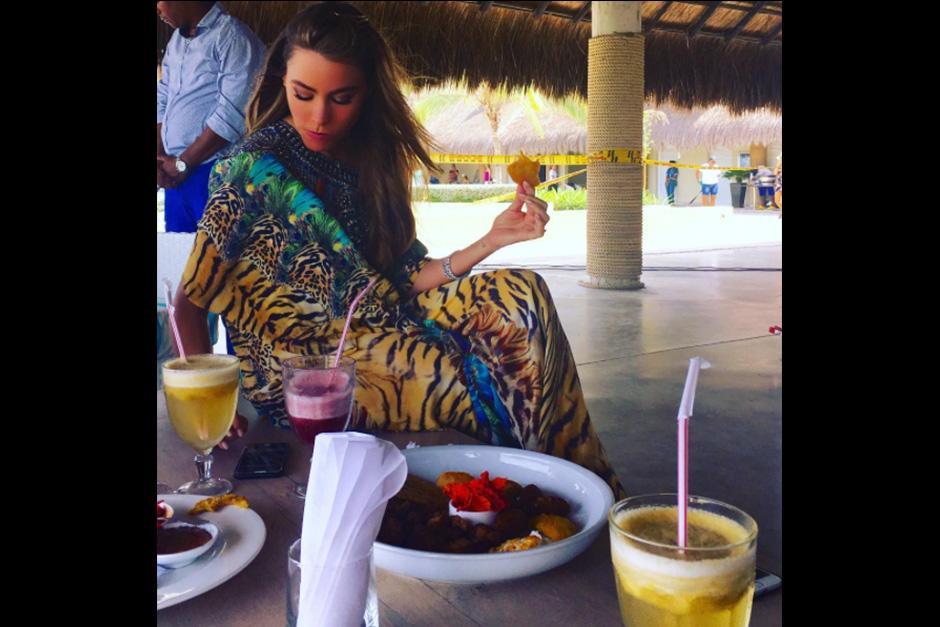 La actriz colombiana asegura que come todo lo que le gusta con medida. (Foto: Instagram)