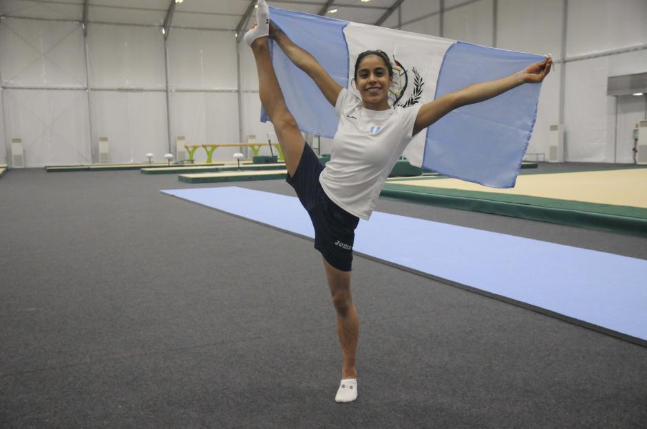 Ana Sofía Gómez estará en sus segundos Juegos Olímpicos, tras Londres 2012. (Foto: Pedro Pablo MIjangos/Soy502)