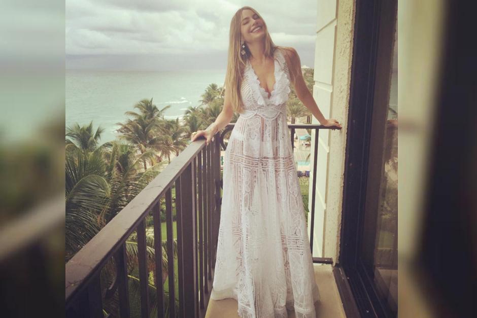 La actriz Sofía Vergara luce radiante previo a su boda. (Foto: Sofia Vergara/ Instagram)