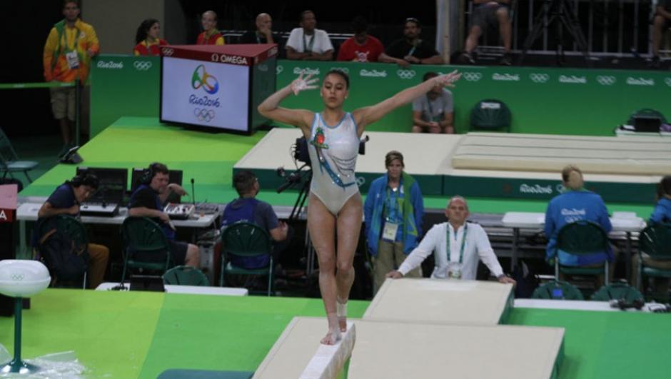 Recientemente Ana Sofía plasmó sus participaciones en Juegos Olímpicos con un tatuaje en el brazo. (Foto: Archivo/Soy502)