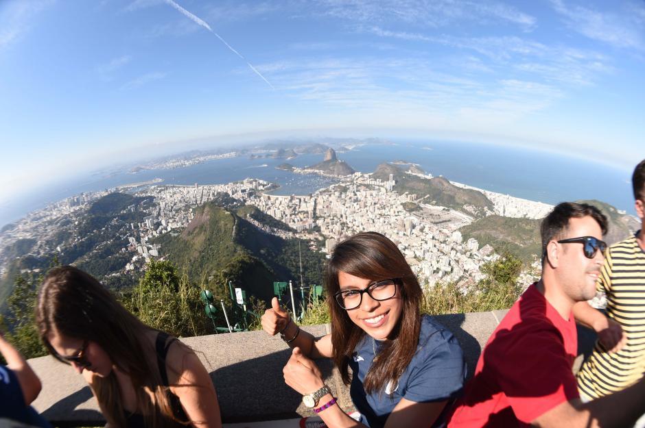 Desde el cerro del Corcovado se mira gran parte de la ciudad de Río de Janeiro. (Foto: Aldo Martínez/Enviado especial de Nuestro Diario)
