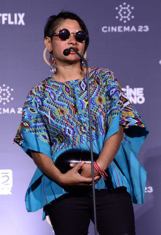 La guatemalteca Sofía Lantán agregó que siempre había soñado con involucrarse en el cine. (Foto: Selene Mejía/Soy502)