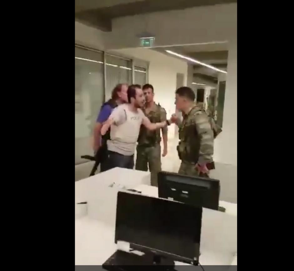 El intento de golpe de estado tuvo lugar el pasado viernes. (Imagen: Captura de pantalla)