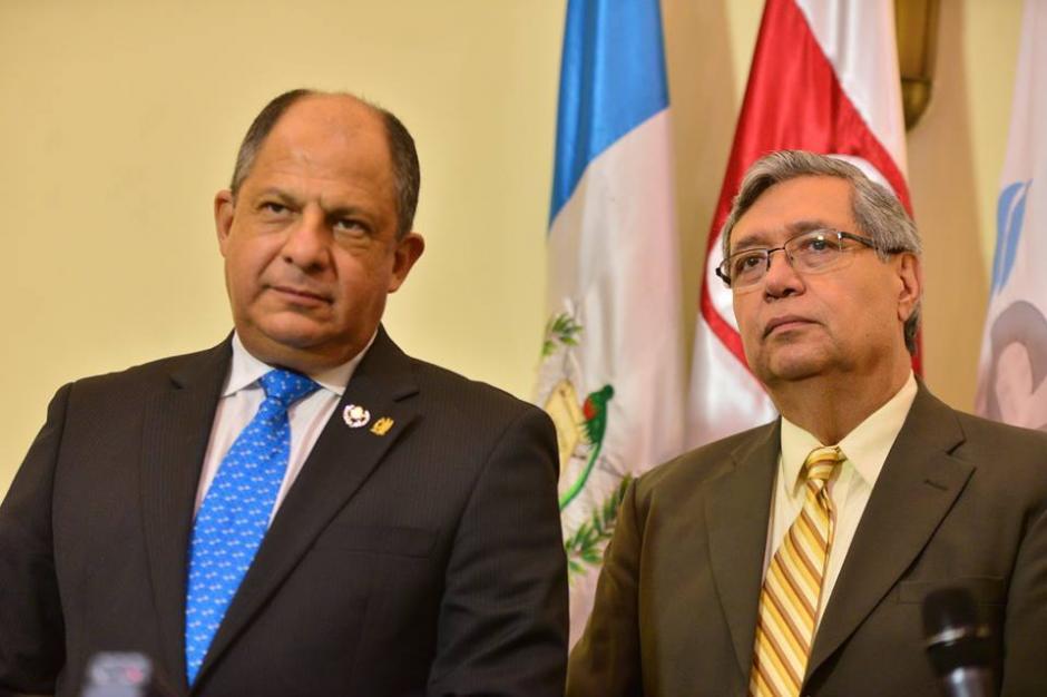 Ambos participaron de una actividad del Cacif. (Foto: Wilder López/Soy502)