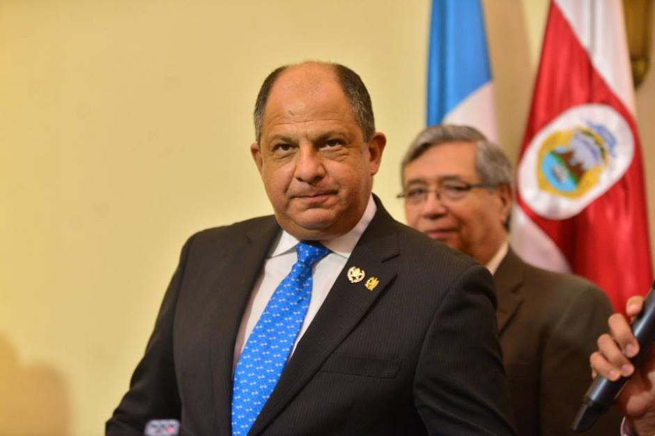 El mandatario de Costa Rica abordó temas de integración en la región.  (Foto: Wilder López/Soy502)