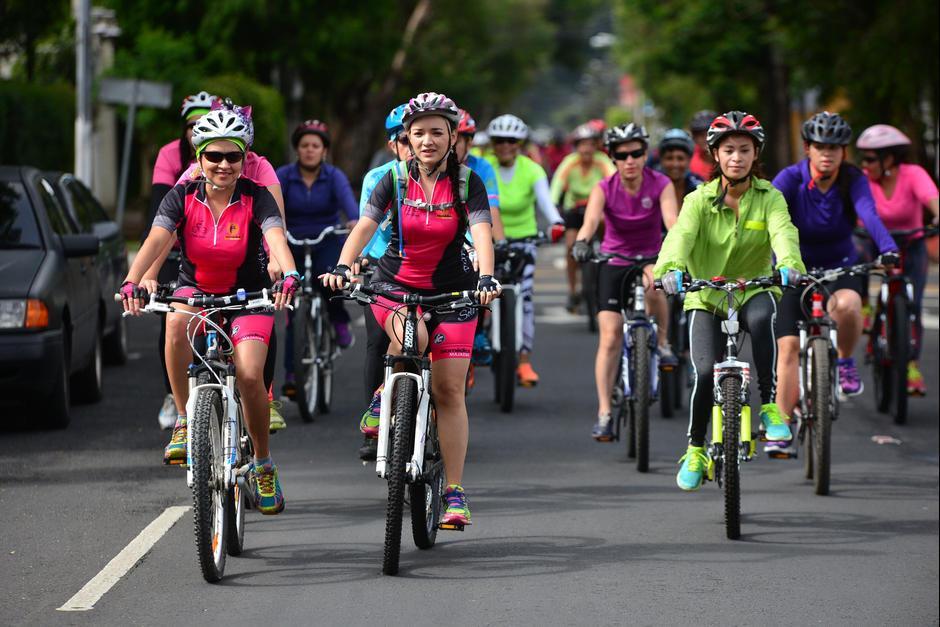 Las actividades están dirigidas a buscar un transporte alternativo en la ciudad. (Foto: Archivo/Soy502)