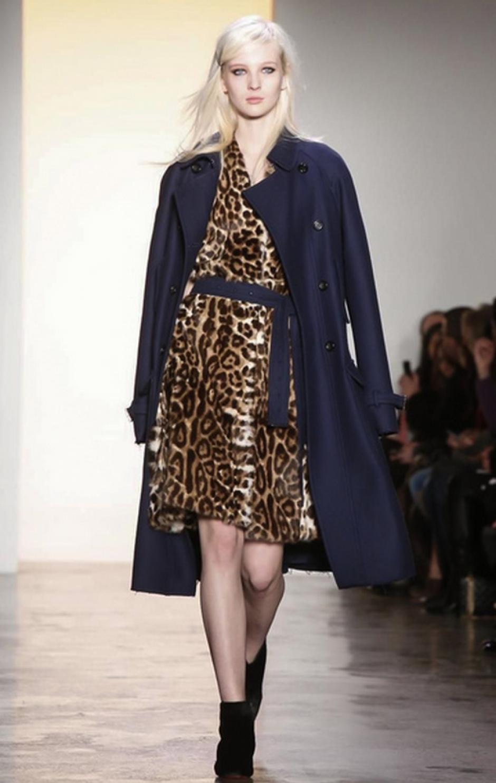 El leopardo sigue siendo el preferido de los diseñadores. (Foto: NowFashion)