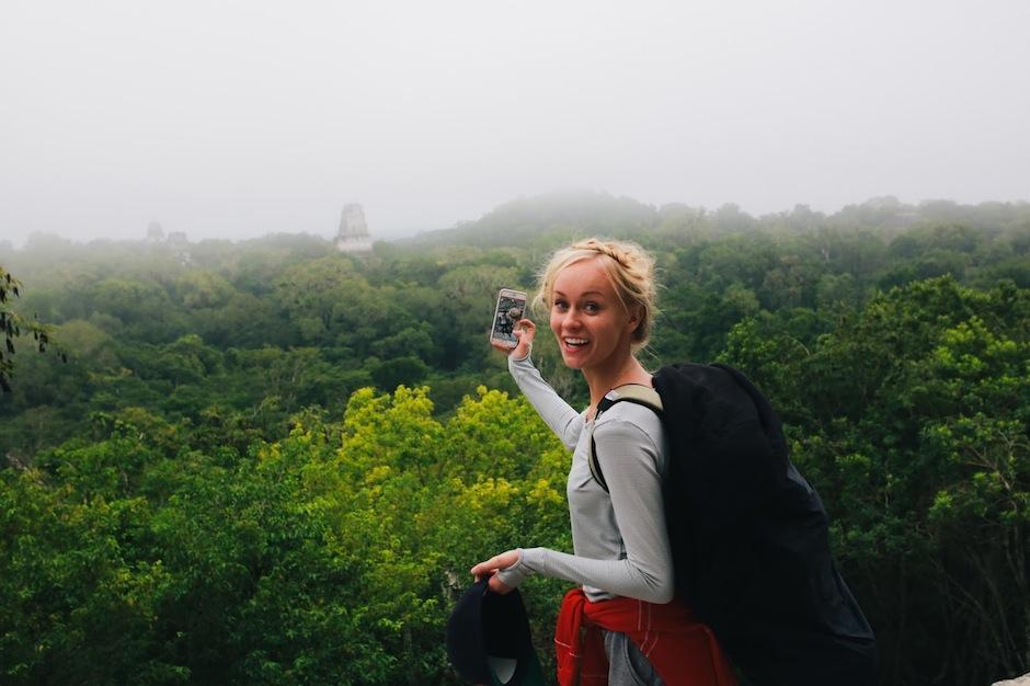 Tikal sorprendió a los famosos viajeros. (Foto: Something Devine)