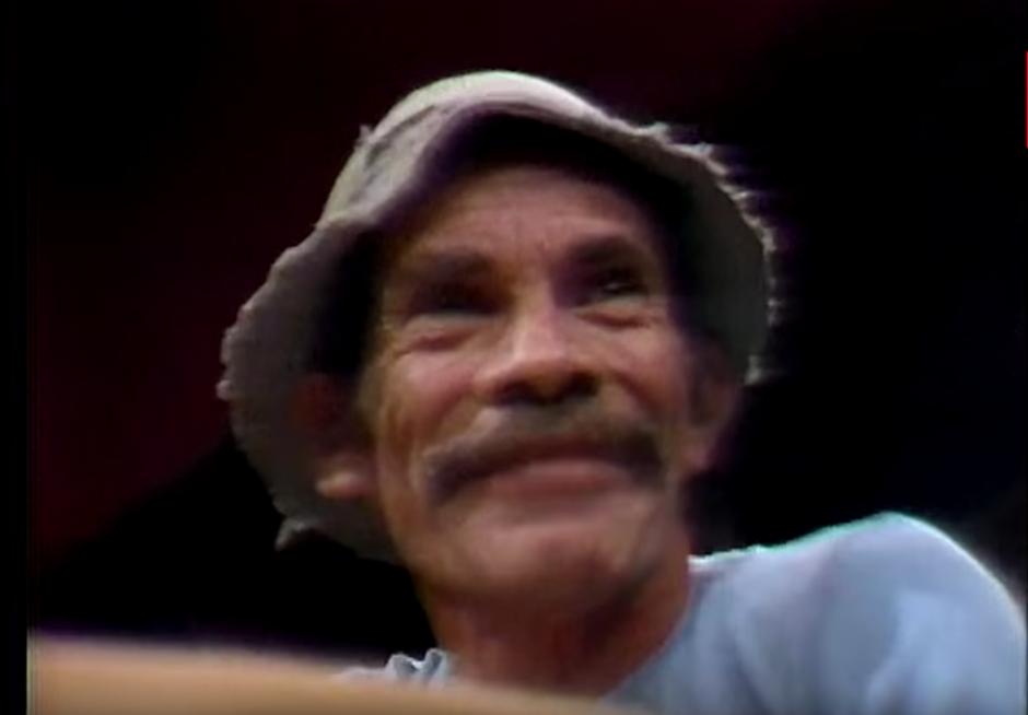 Ramón Valdés, mejor conocido como Don Ramón. (Captura de pantalla: YouTube/TVN)