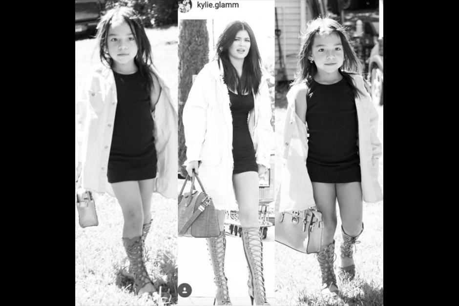Ropa, peinados y accesorios y actitud, hacen de Sophia una buena imitadora. (Foto: Instagram)