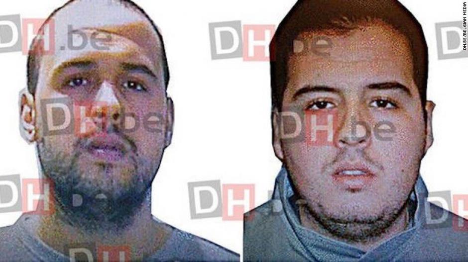 Khalid y Brahim El Bakraoui, sospechosos de los atentados. (Foto: CNN)