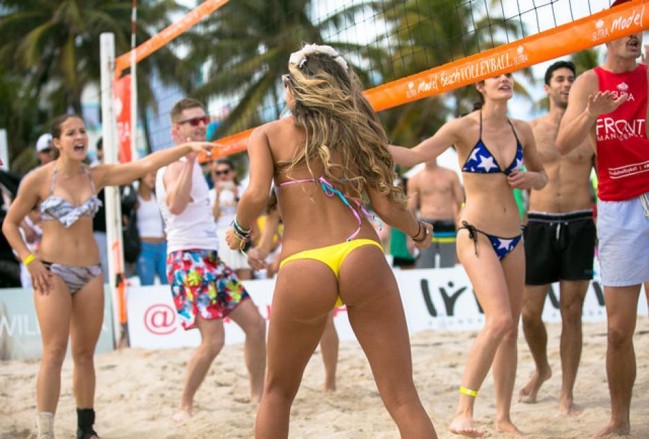Así fue la fiesta del Model Beach Volleyball 2016. (Foto: Diez)
