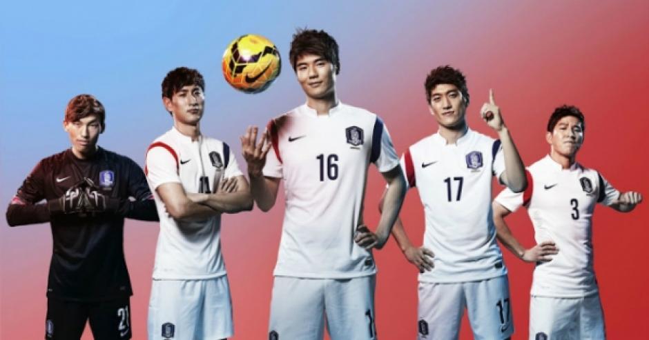 7d79431ef9 Corea del Sur  nbsp estos uniformes blancos no se ven súper especiales a  primera