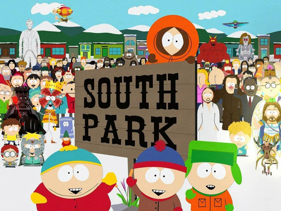 La serie South Park muestra personajes irreverentes e irresponsables parecidos al estilo de Juan Guitiérrez en su nueva campaña. (Foto: SDPNoticias)