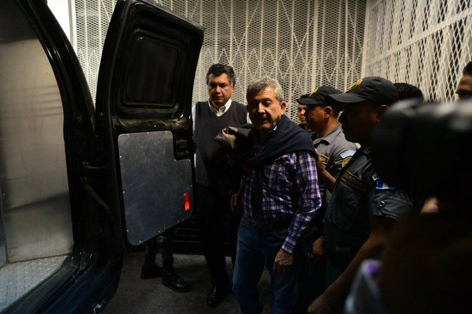 Otro de los implicados en el Caso Redes fue trasladado también a esa prisión. (Foto: Wilder López/Soy502)