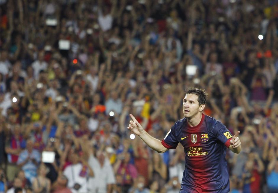 Lionel Messi suma ya 11 goles anotados en el terreno del Almería