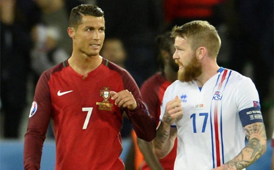 El incidente tuvo lugar luego del encuentro entre Portugal e Islandia. (Foto: sport.es)