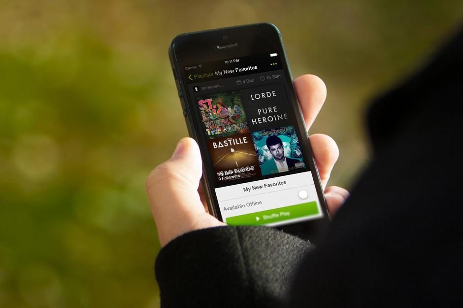 Spotify requiere de mayor espacio para almacenar datos. (Foto: Google)