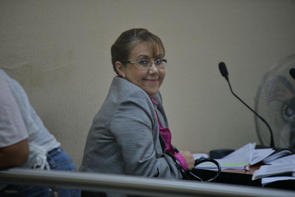 Con una actitud serena y muy sonriente se vio a Stalling en la audiencia. (Foto: Wilder López/Soy502)