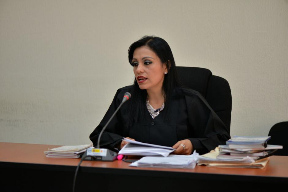 La jueza Rosmery López se inhibió de conocer este caso.  (Foto: Wilder López/Soy502)
