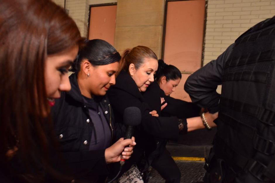 El testimonio del agente de la PNC causó molestias en la magistrada y sus abogados. (Foto: Jesús Alfonso/Soy502)