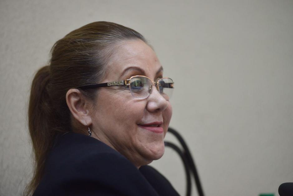 Blanca Stalling no se ha pronunciado sobre el uso del arma de fuego. (Foto: Jesús Alfonso/Soy502)