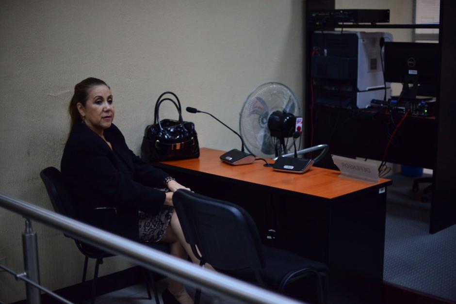 Esta vez frente a un juzgado de paz por los nuevos cargos en su contra. (Foto: Jesús Alfonso/Soy502)