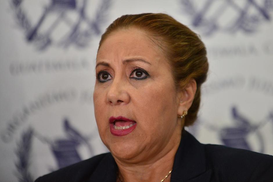 La magistrada de la CSJ, Blanca Stalling, recibió un proceso de antejuicio por tráfico de influencias. (Foto: Archivo/Soy502)