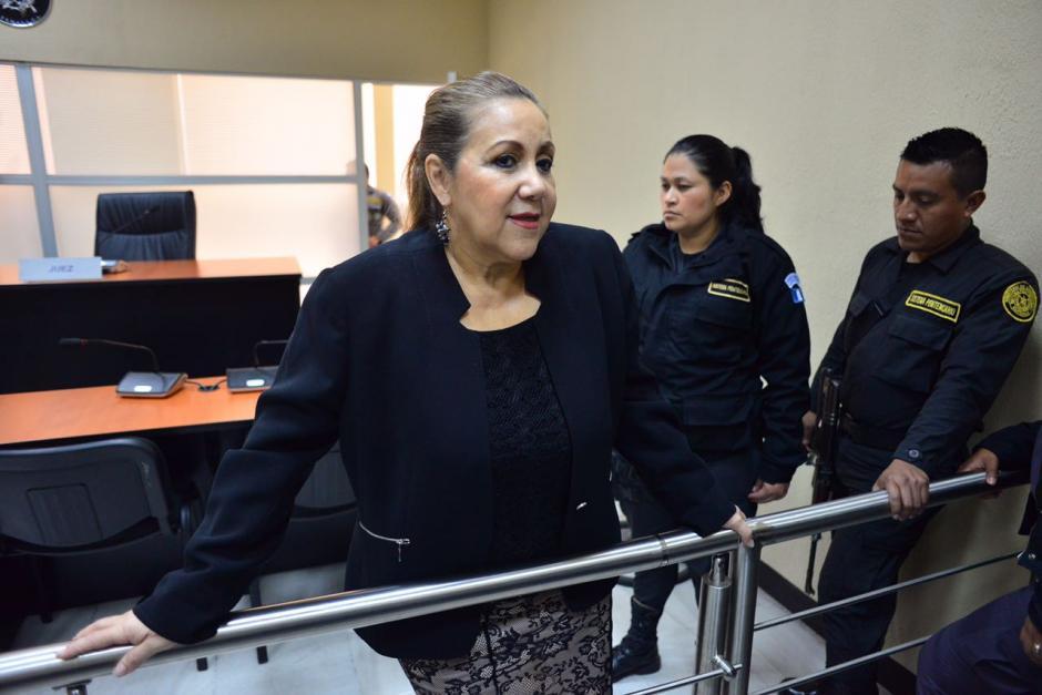 La magistrada enfrenta cargos por amenazar a agentes de la PNC. (Foto: Jesús Alfonso/Soy502)